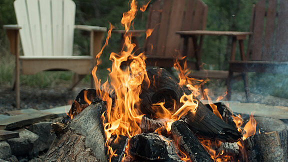 Yellowstone Trail RV Park Camp Fire Visit Pinedale