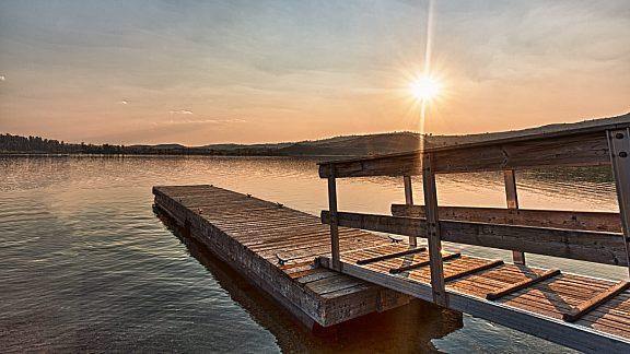 Half Moon Lake Docks - Pinedale, WY