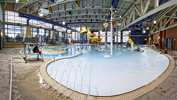 Aquatic Center Leisure Pool Visit Pinedale WY