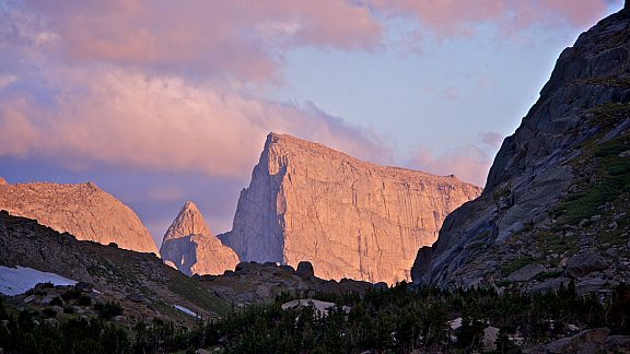 Jackass Pass, Cirque of the Towers, Wind River Range - Pinedale, WY