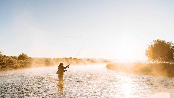 Fall Fly Fishing New Fork River - Visit Pinedale, WY
