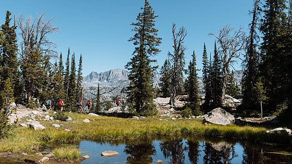Summer Backpacking Group in the Wind River Mountains - Visit Pinedale, WY