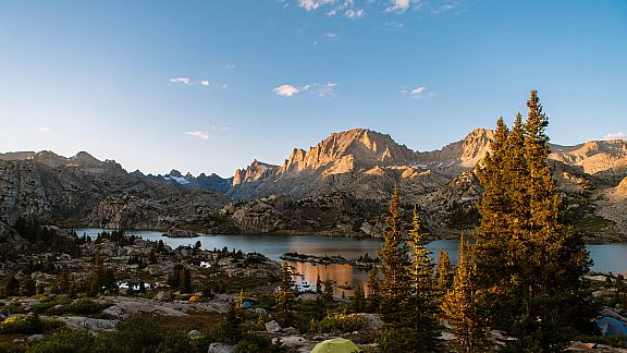 Backpacking to Island Lake in the Wind River Mountain Range - Visit Pinedale, WY