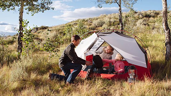 Summer Family Camping Soda Lake - Visit Pinedale, WY