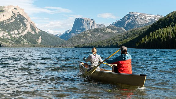Summer Paddling Green River Lakes - Visit Pinedale, WY