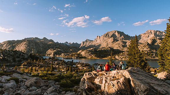 Backpacking to Island Lake, Wind River Range - Visit Pinedale, WY