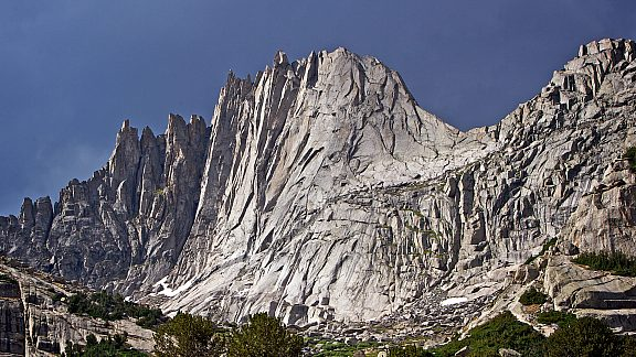 Wolfs Head, Cirque of the Towers, Wind River Mountains - Pinedale, WY