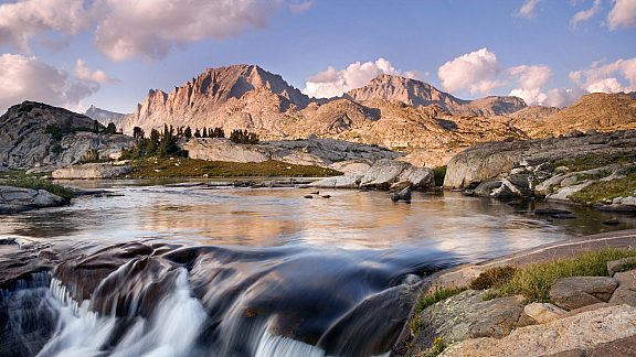Fremont Peak and Jackson Peak - Wind River Range