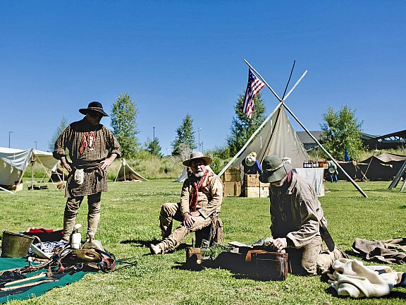 Green River Rendezvous Days at the Museum of the Mountain Man