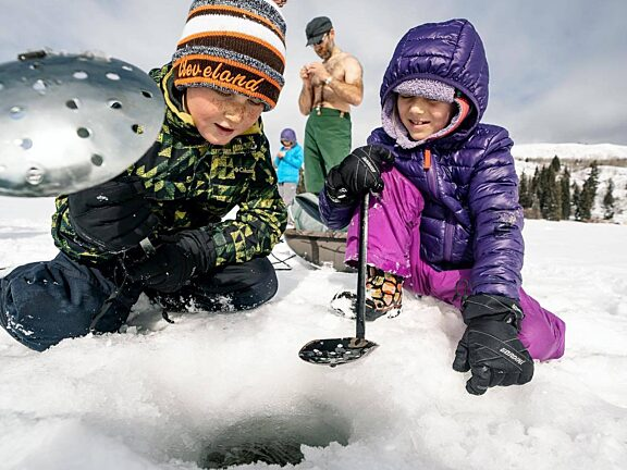 Ice Fishing Derby Gretchen Yost Visit Pinedale