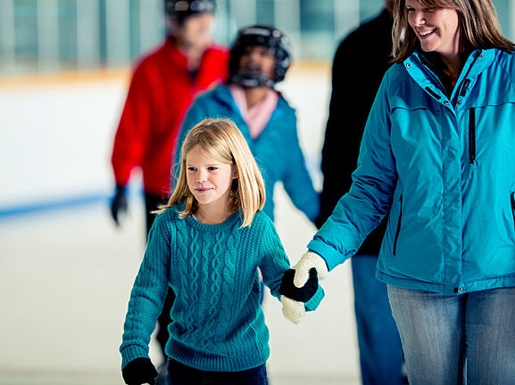 Ice Skating Sublette County Ice Arena Visit Pinedale