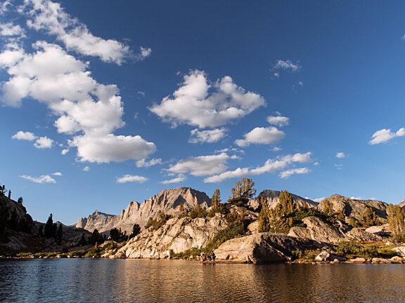 Lake Island Visit Pinedale Backpacking 2