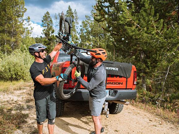 Mountain Biking Visit Pinedale WY