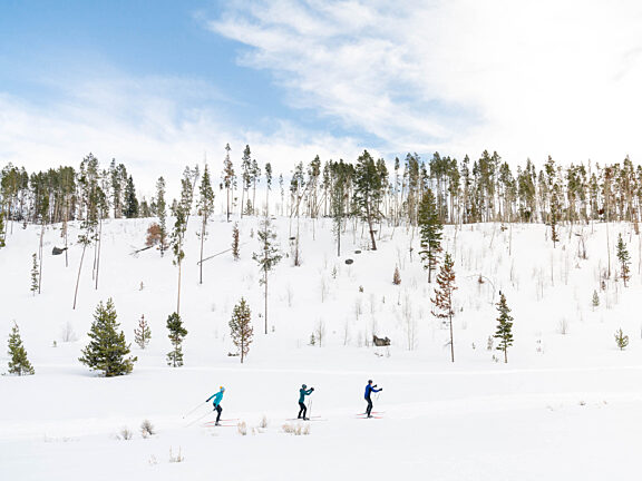 Nordic Skiing Kelly Park Visit Pinedale