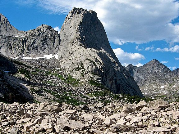 Pingora Peak, Cirque of the Towers, Wind River Range - Pinedale, WY