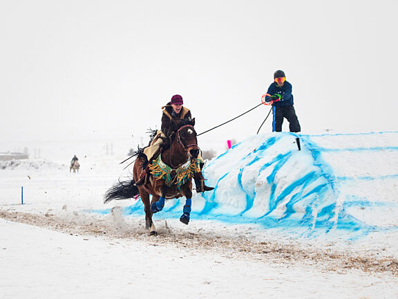 Skijoring Pinedale Winter Carnival Visit Pinedale