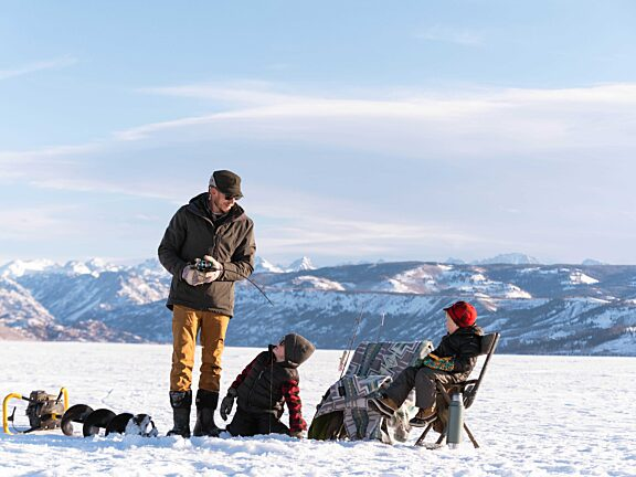 Visit Pinedale, WY - Winter Ice Fishing Fremont Lake