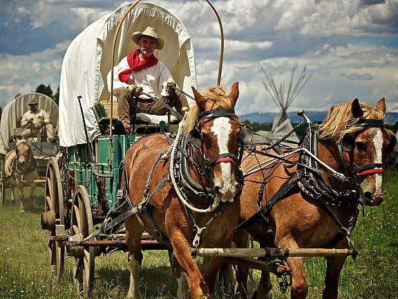 Wagon Master, Green River Rendezvous Pageant - Visit Pinedale WY