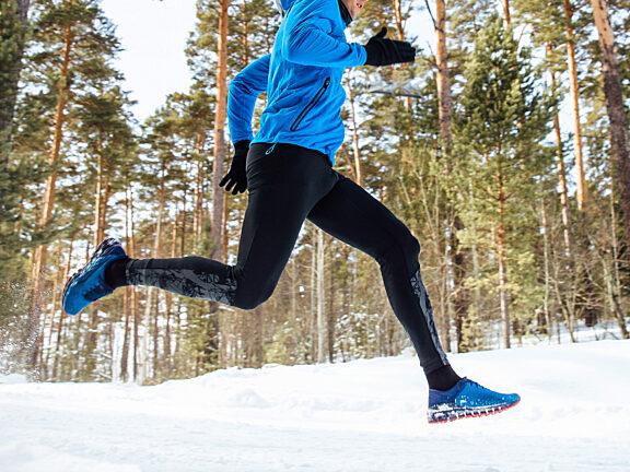 Winter Running Visit Pinedale