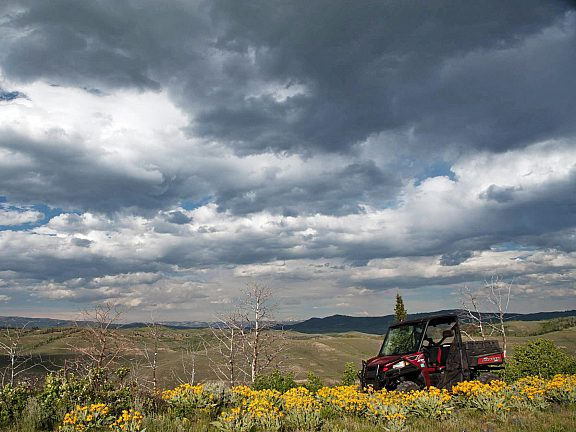 Wyoming Range ATV Pinedale Wyoming